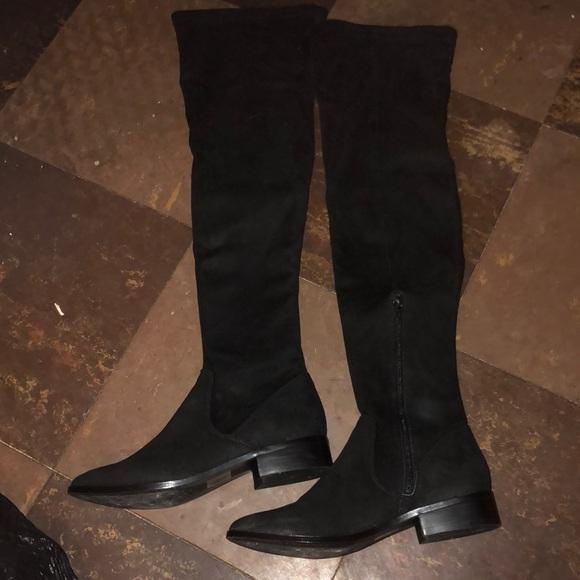 7b538b393d0 Aldo Shoes - Aldo Elinna over the knee boot black suede 7.5